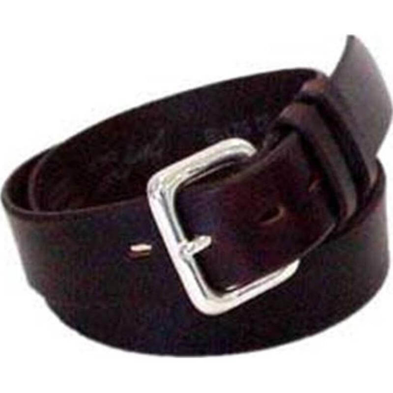 Leegin Creative Leather Beveled City Gear Belt 1-1/2 inch - Brown