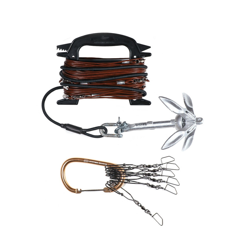 Lifetime Decoys 90 Foot Jerk Rig Kit