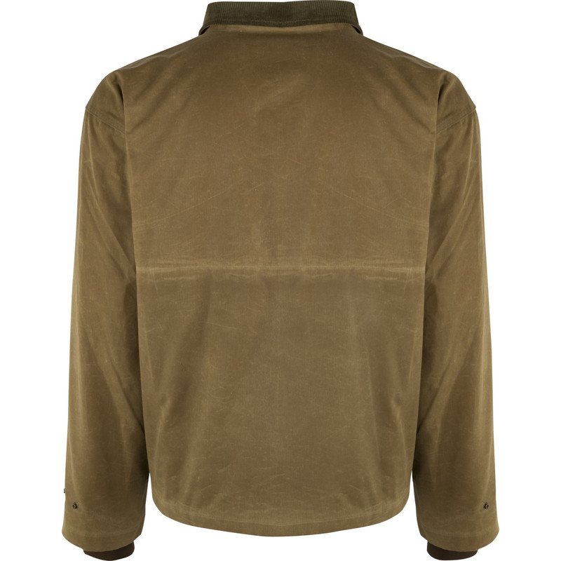 McAlister Wax Canvas Field Jacket in Tan Color
