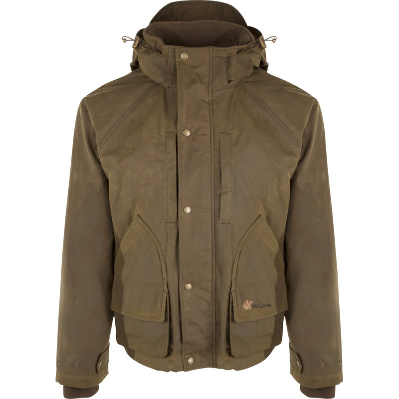 McAlister Wax Canvas Wading Jacket in Beige Color