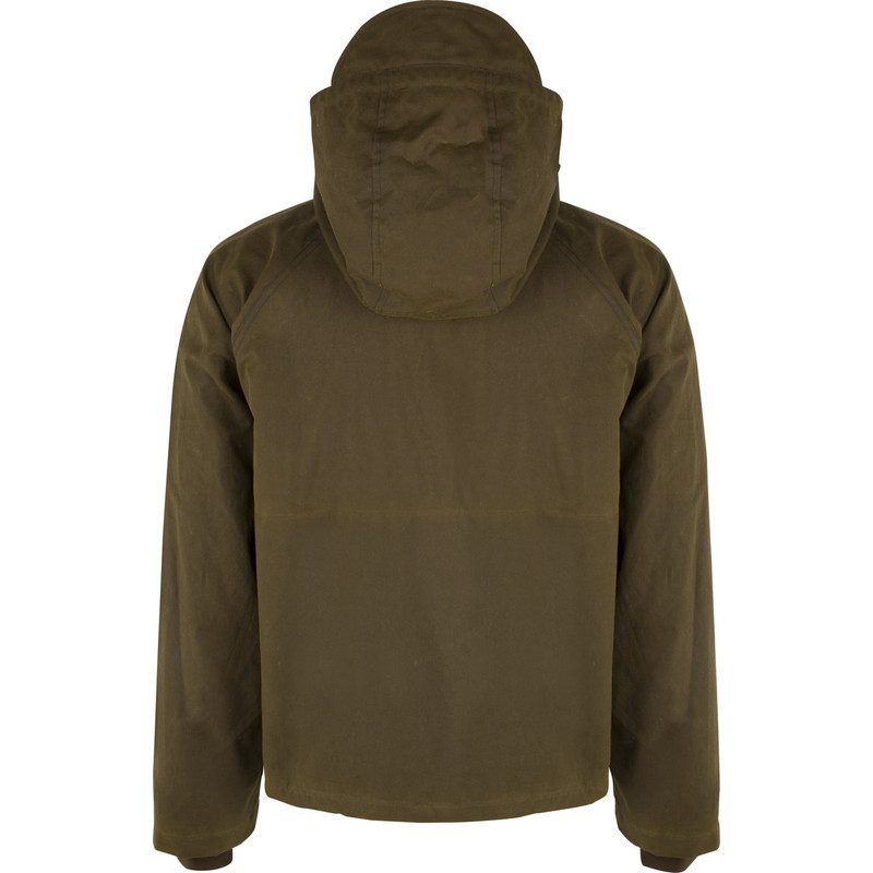 McAlister Wax Canvas Wading Jacket in Olive Color