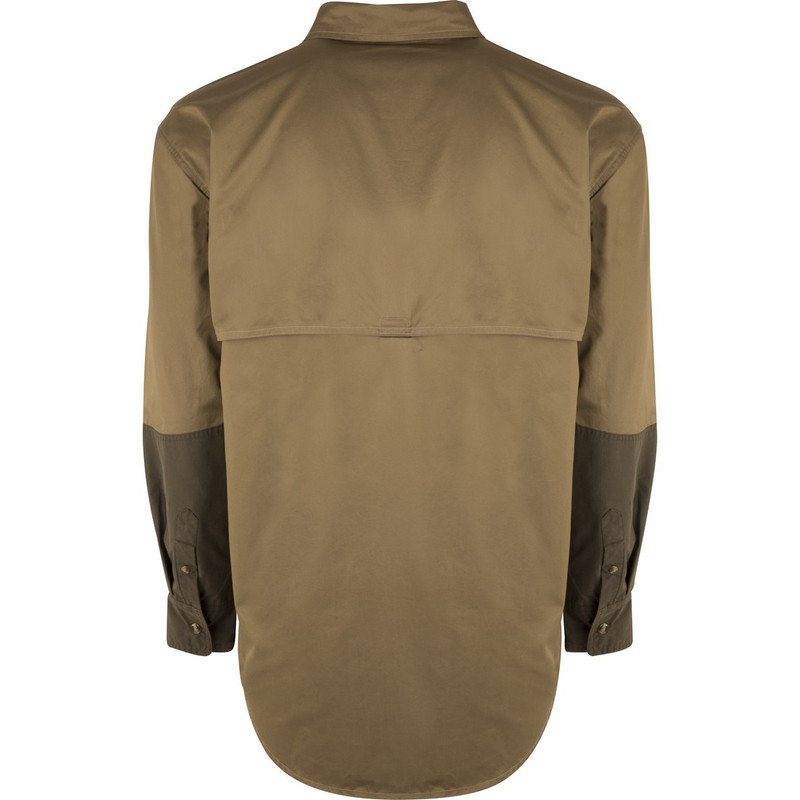 McAlister Upland Field Shirt in Olive Tan Color