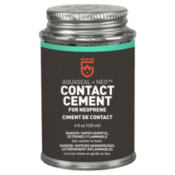 Gear Aid Aquaseal NEO Neoprene Contact Cement 4oz
