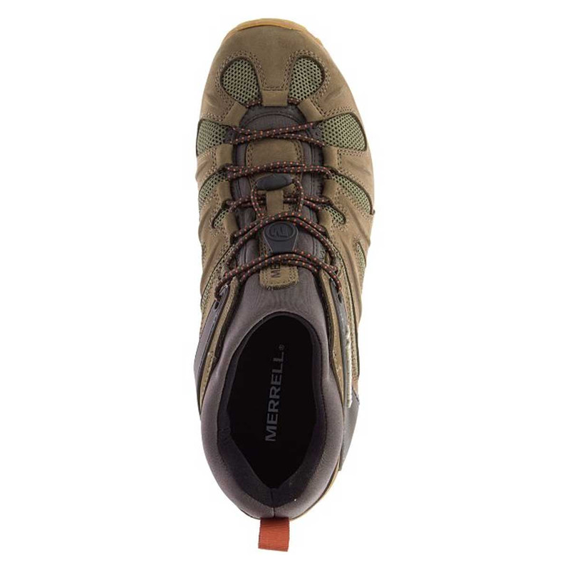 Merrell Chameleon 8 Stretch Hiking Shoes in Olive Color