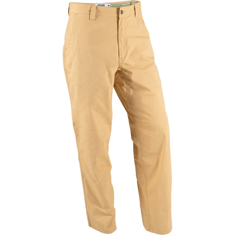 Mountain Khakis Men's All Mountain Relaxed Fit Pants in Yellowstone Color