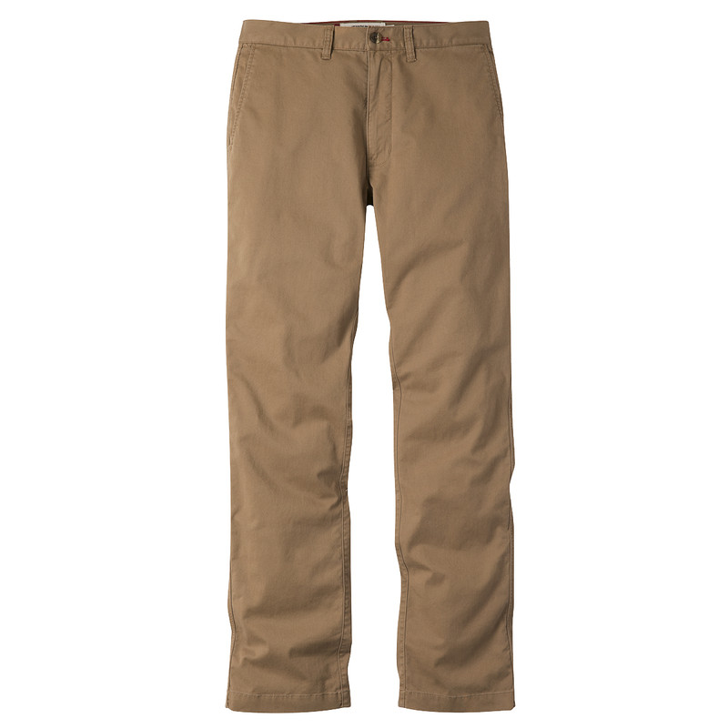 Mountain Khakis Men's Chino Pant Slim Fit in Tobacco Color