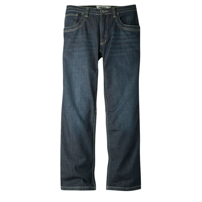 Mountain Khakis Men's Camber 109 Classic Fit Jeans in Dark Denim Color