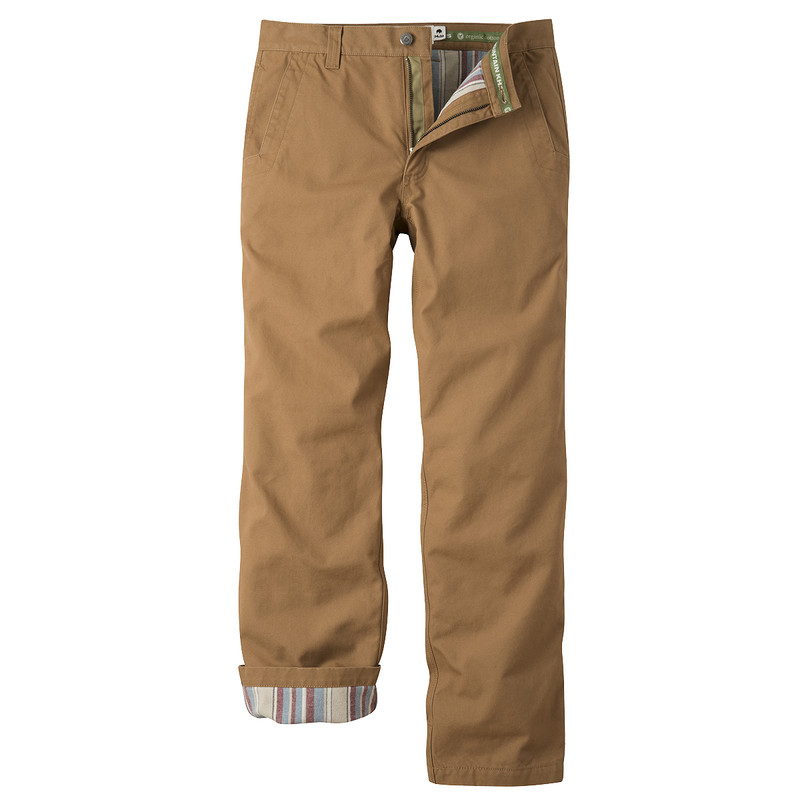 Mountain Khakis Flannel Lined Original Mountain Pants in Ranch Color