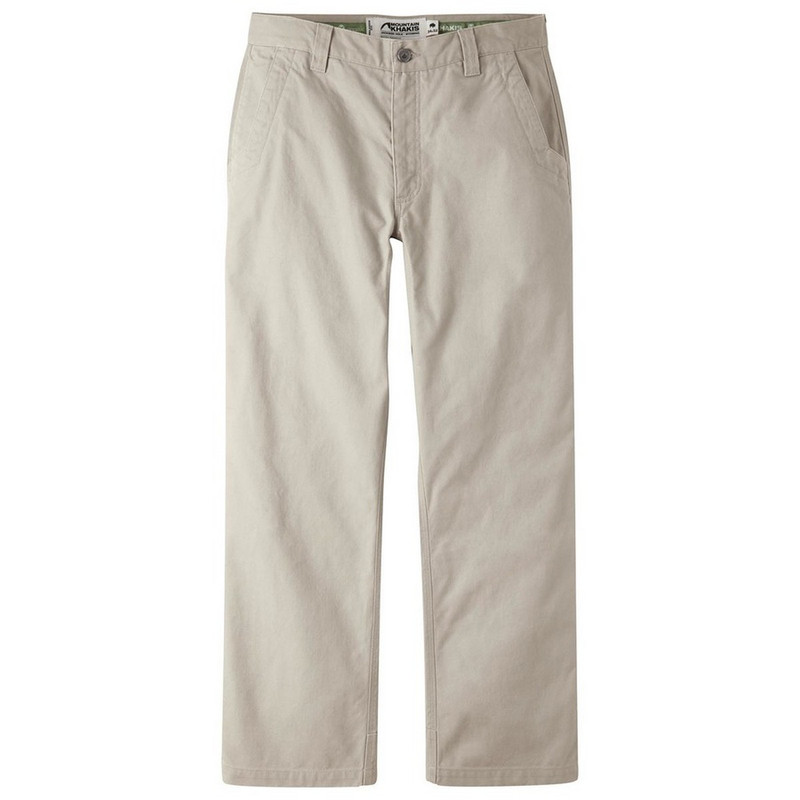 Mountain Khakis Men's Original Mountain Pants - Slim Fit in Freestone Color
