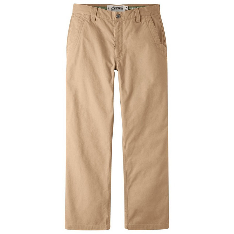 Mountain Khakis Men's Original Mountain Pants - Slim Fit in Yellowstone Color