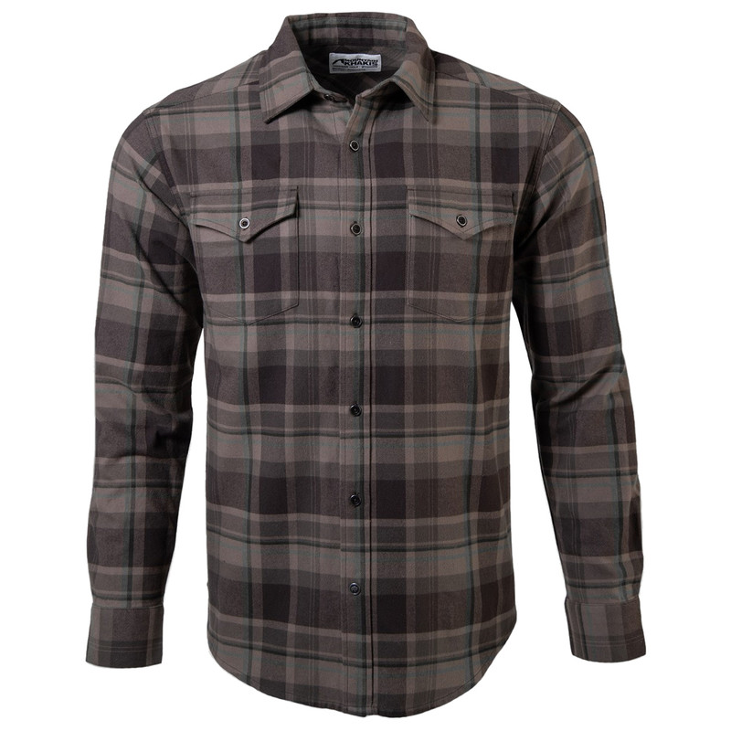 Mountain Khakis Men's Teton Flannel Shirt in Firma Color