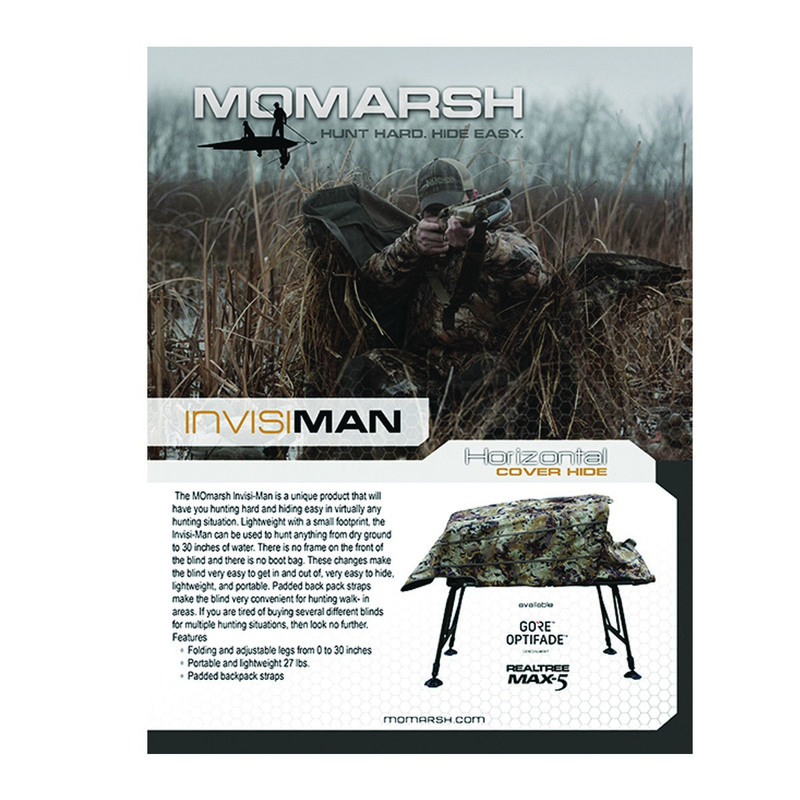 MOmarsh Invisiman Blind in Waterfowl Marsh Color