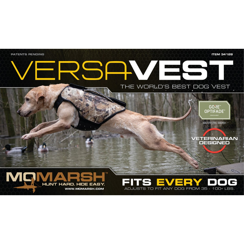 MOmarsh Versa Vest Waterfowl Dog Vest Replacement Covers