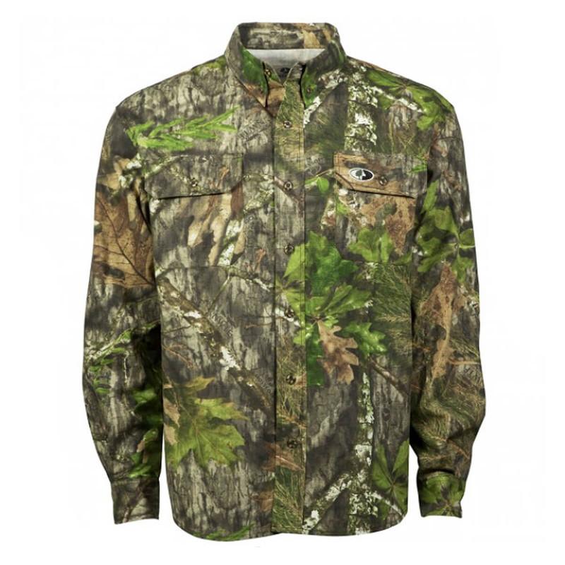 3f67921c12ea8 Mossy Oak Tibbee II Hunting Long Sleeve Shirt