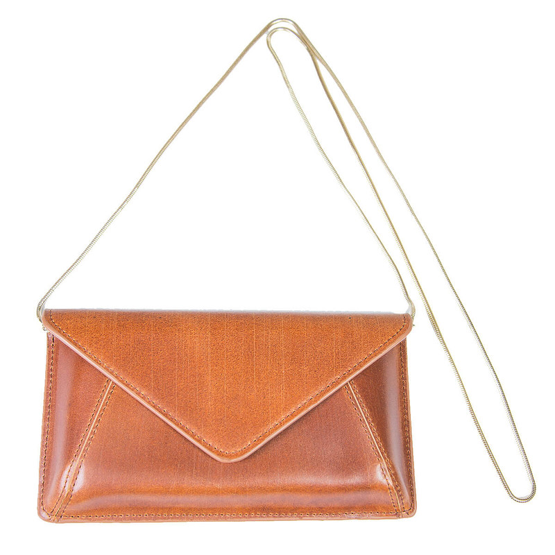 Most Wanted Envelope Bag in Tan Color