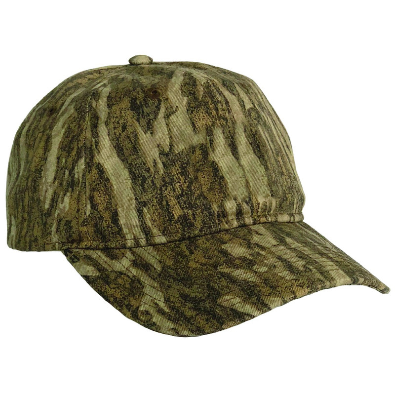 MPW 6-Panel Cap - Custom Blank in Mossy Oak Bottomland Color
