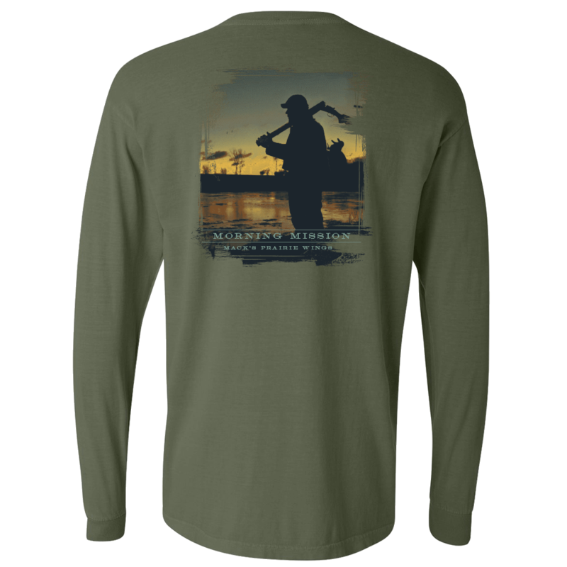MPW Morning Mission Long Sleeve T-Shirt in Hemp Color
