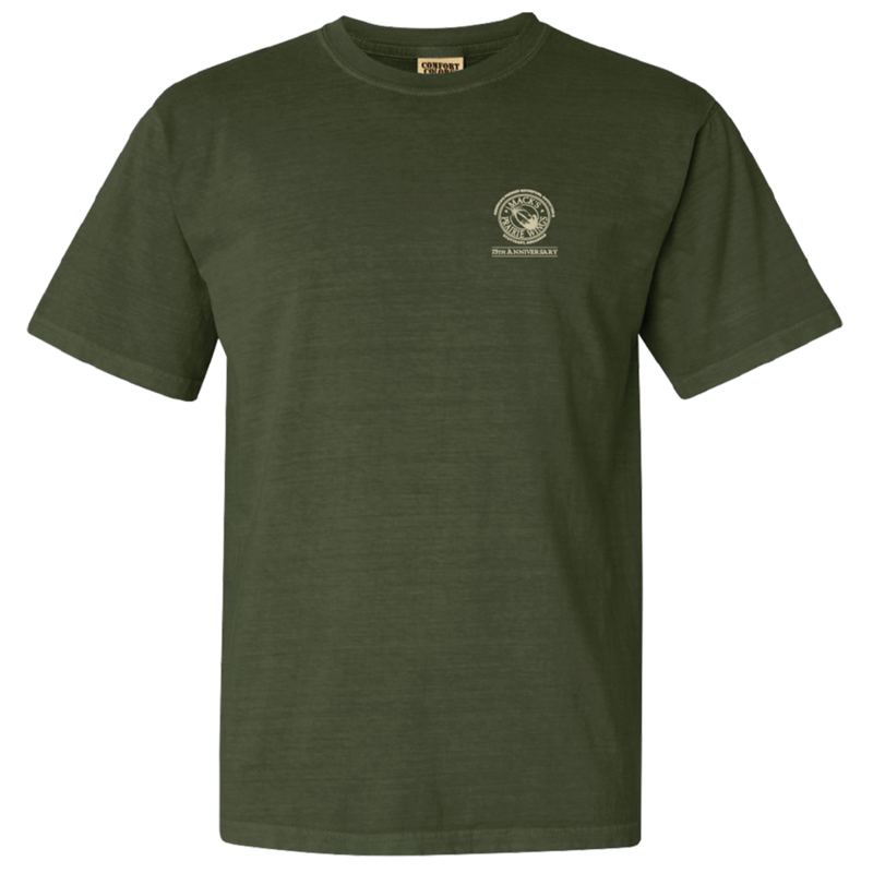 MPW 75th Anniversary Short Sleeve Tee in Hemp Color