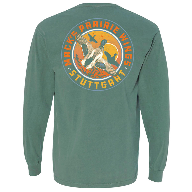 MPW Rise & Shine Long Sleeve T-Shirt in Light Green Color