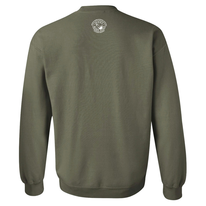MPW Ladies Baggy Sweatshirt in Military Green Color
