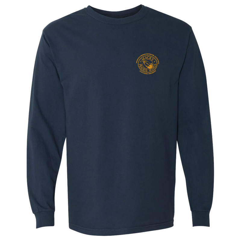 MPW An American Tradition Long Sleeve T-Shirt in Midnight Color