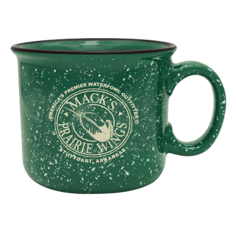 MPW Logo Camping Mug Forest Green in Forest Green