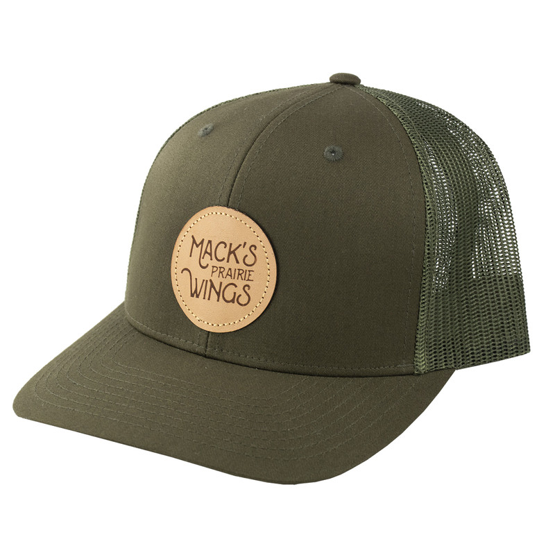 MPW Circle Leather Patch Cap