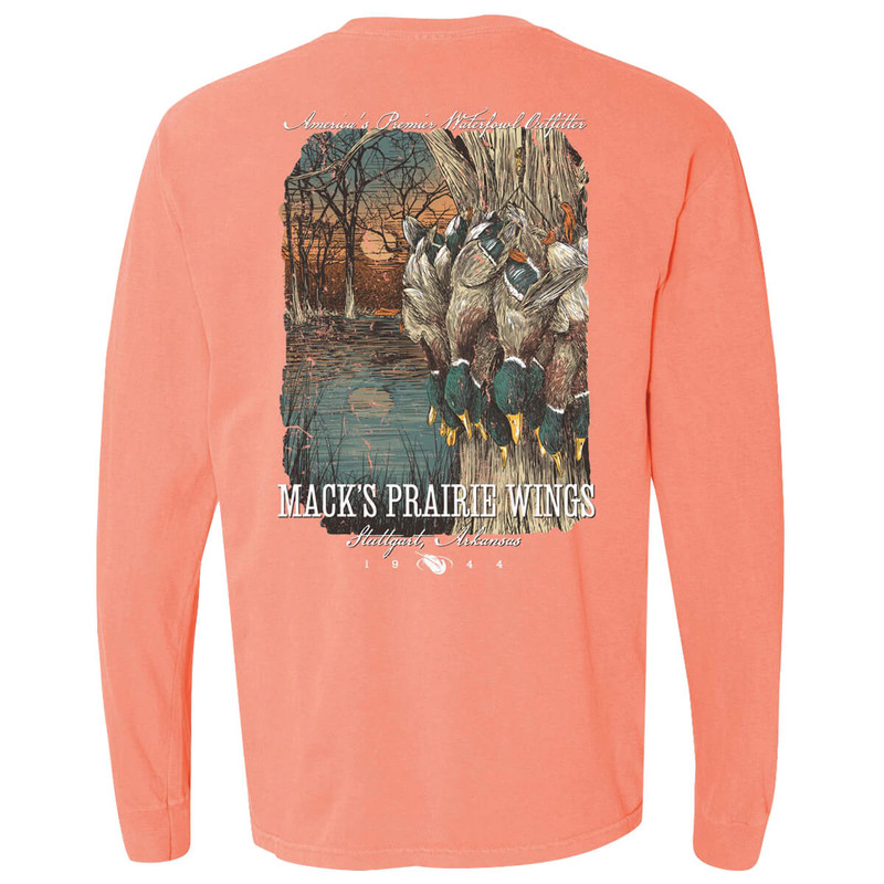 MPW 8 Ball Long Sleeve T-Shirt in Terracotta Color