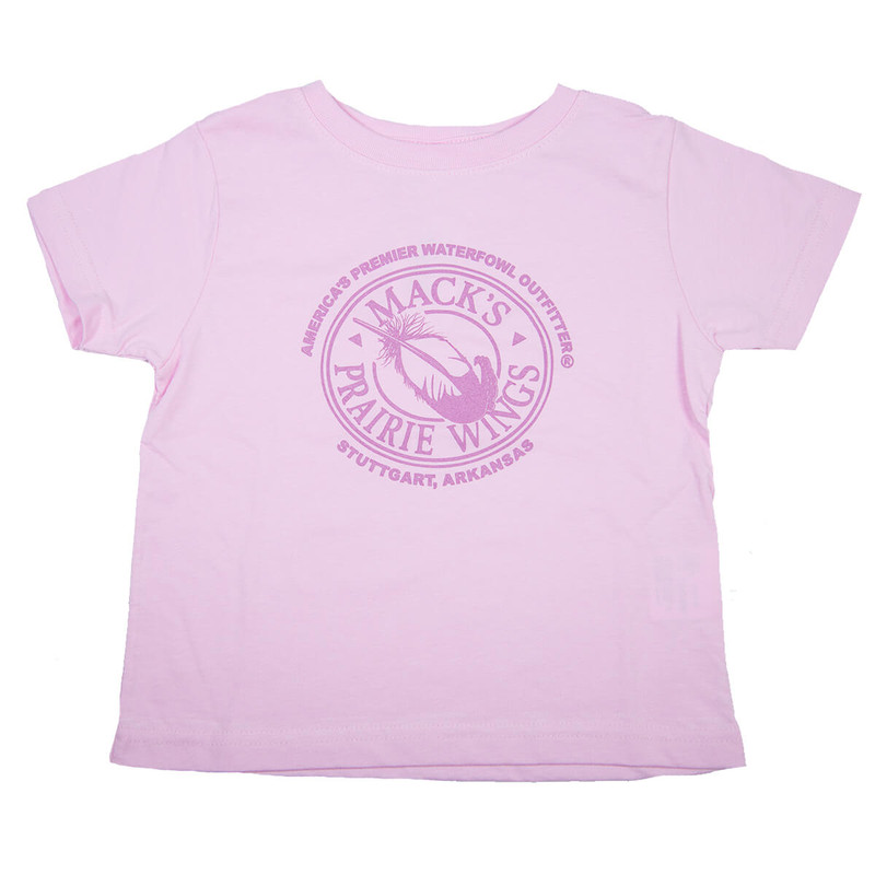 MPW Baby Logo Short Sleeve T-Shirt in Pink Color