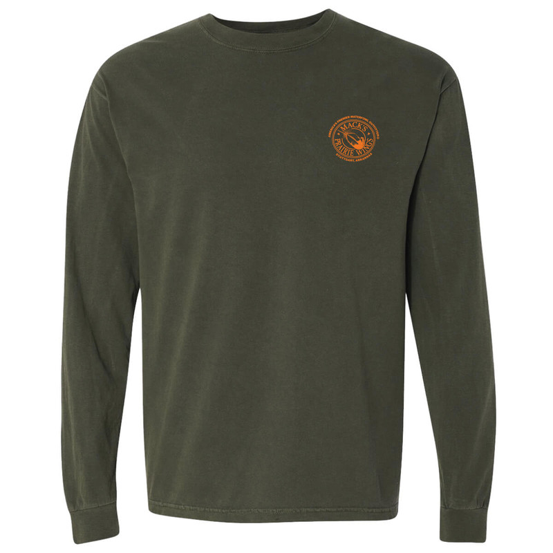 MPW Full Logo Adult Long Sleeve Tee in Hemp Color