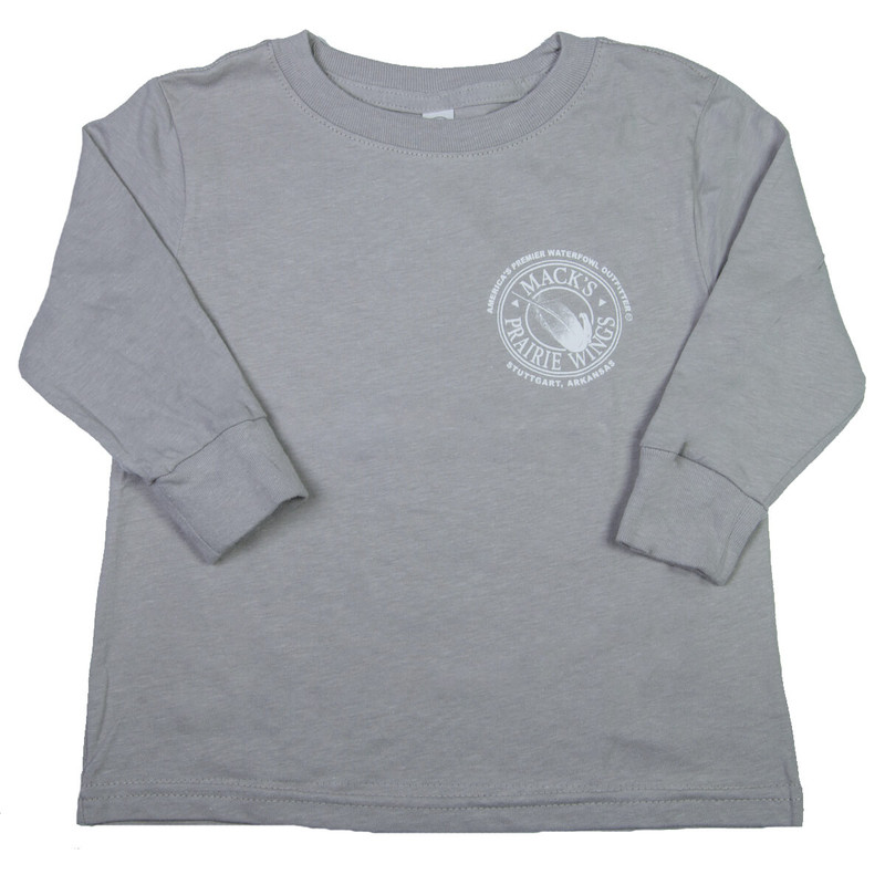 MPW On Point Youth Long Sleeve in Titanium Color