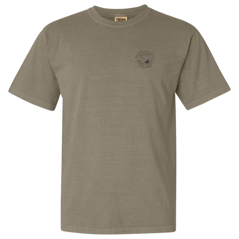 Trophy Deer Short Sleeve in Khaki Color