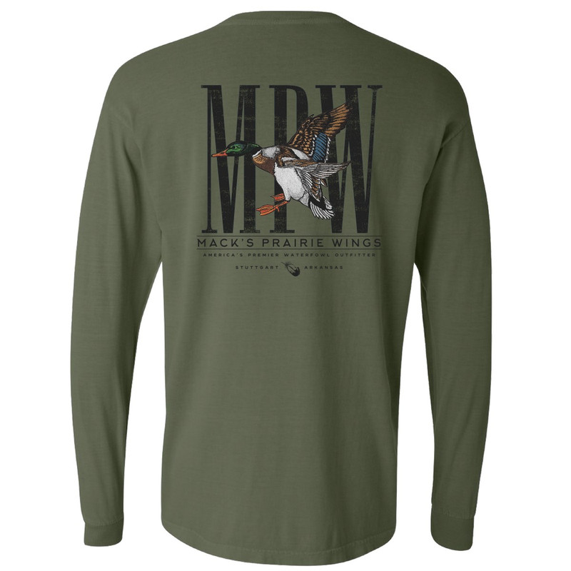 MPW Grand Prairie Mallard Long Sleeve in Hemp Color