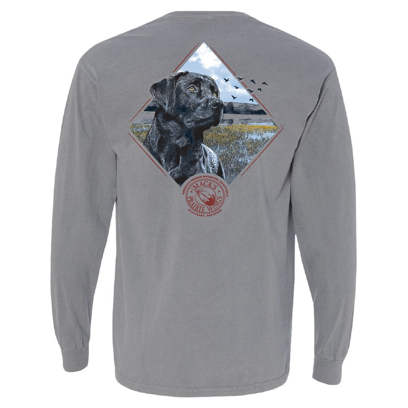 MPW Faithful Friend Long Sleeve in Granite Color