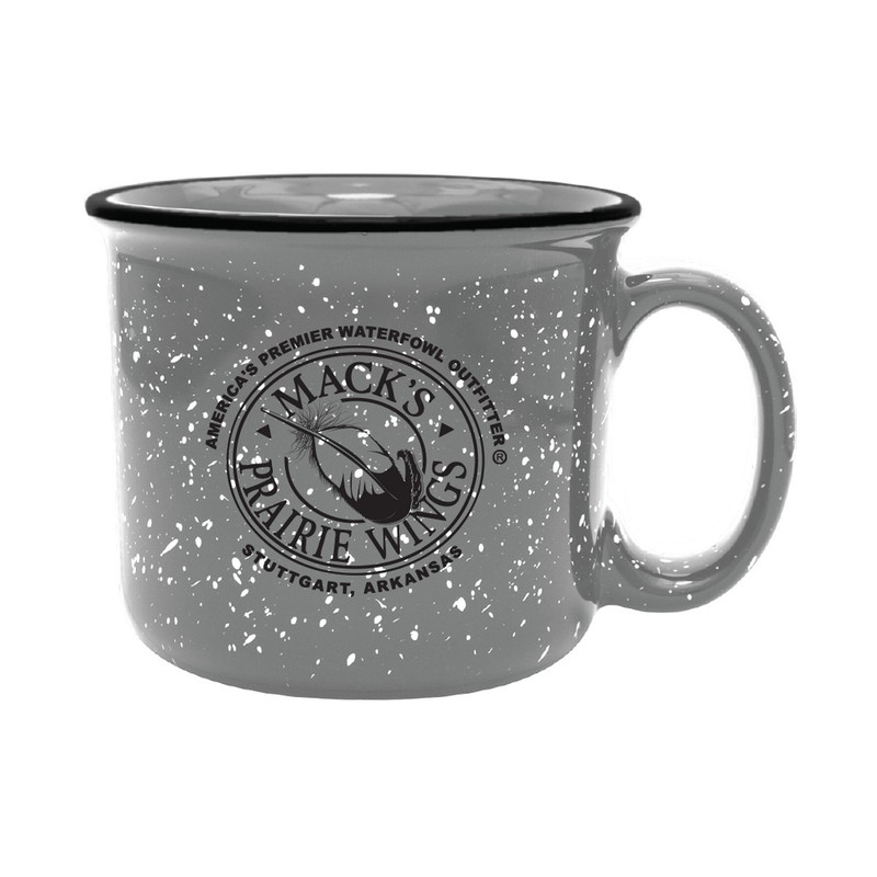 MPW Logo Camping Mug 12 Ounce in Grey Color