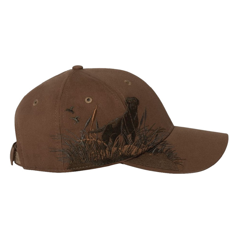 MPW Labrador Logo Cap in Brown Color