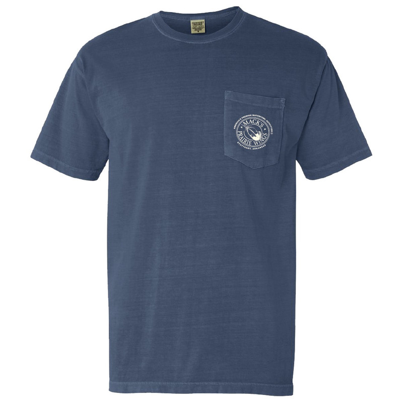 MPW Mallard Pond Short Sleeve in Blue Jean Color