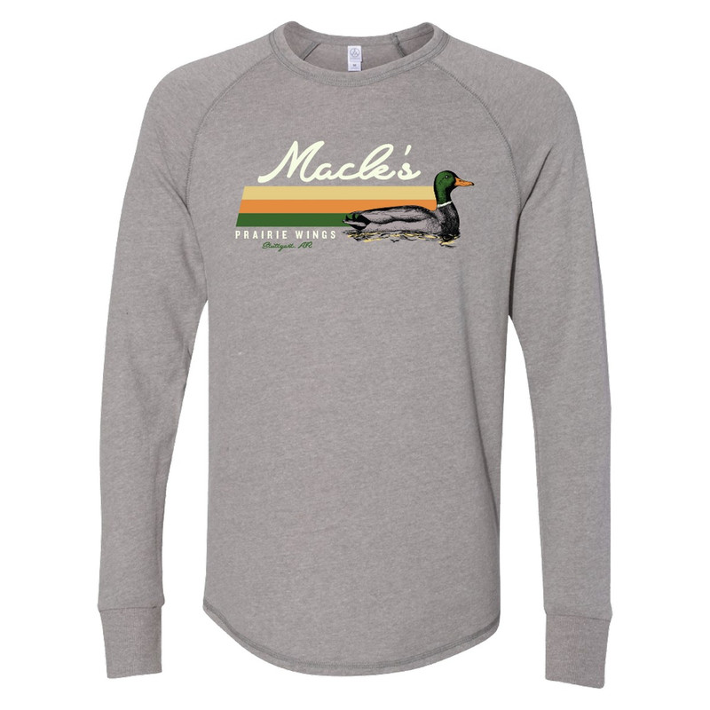 MPW Kickback Mallard Pullover in Smoke Grey Color