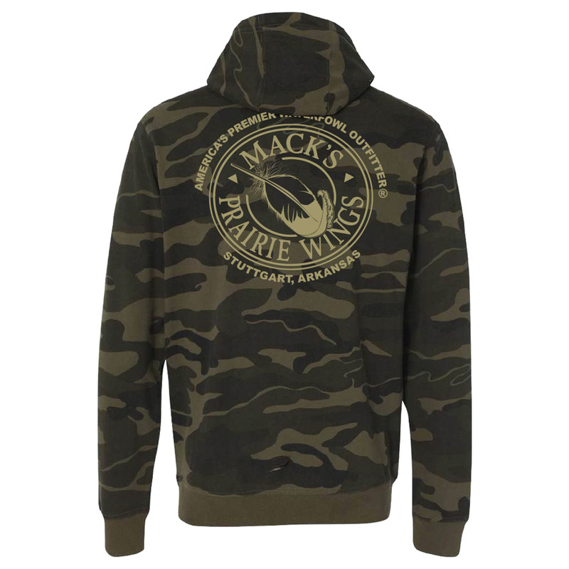 MPW Logo Hooded Full Zip in Camo Color