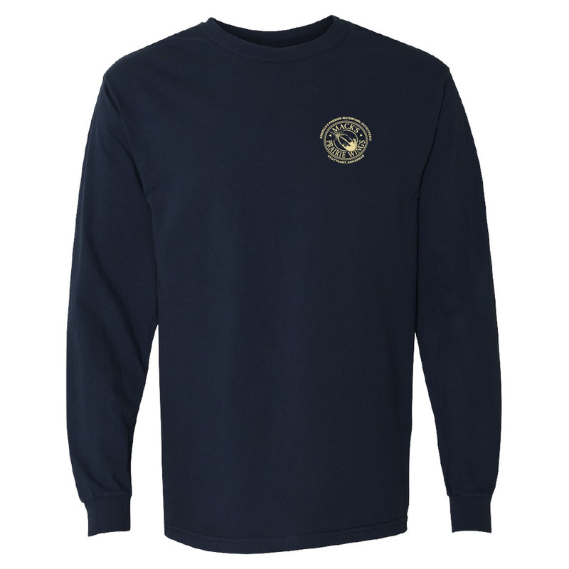 MPW Throwback Mallard Long Sleeve in Midnight Color