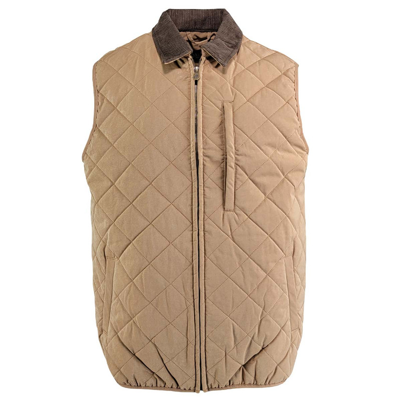 MPW Sportsman Quilted Vest in Chestnut Color