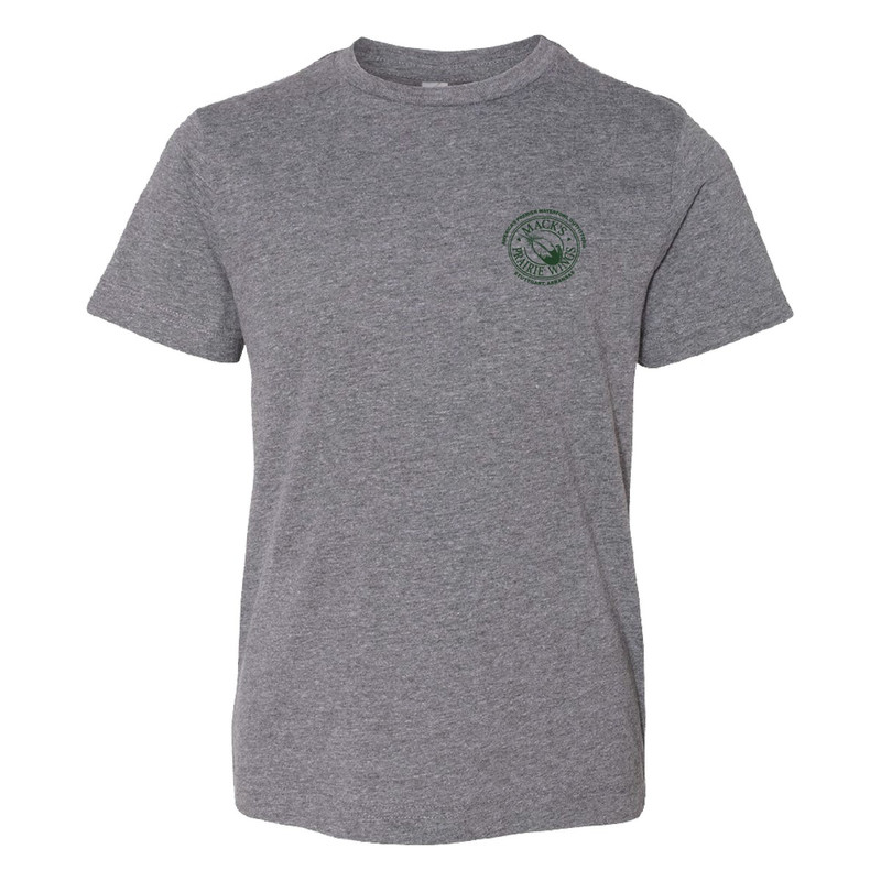 MPW Youth Short Sleeve MPW Full Logo in Granite Color