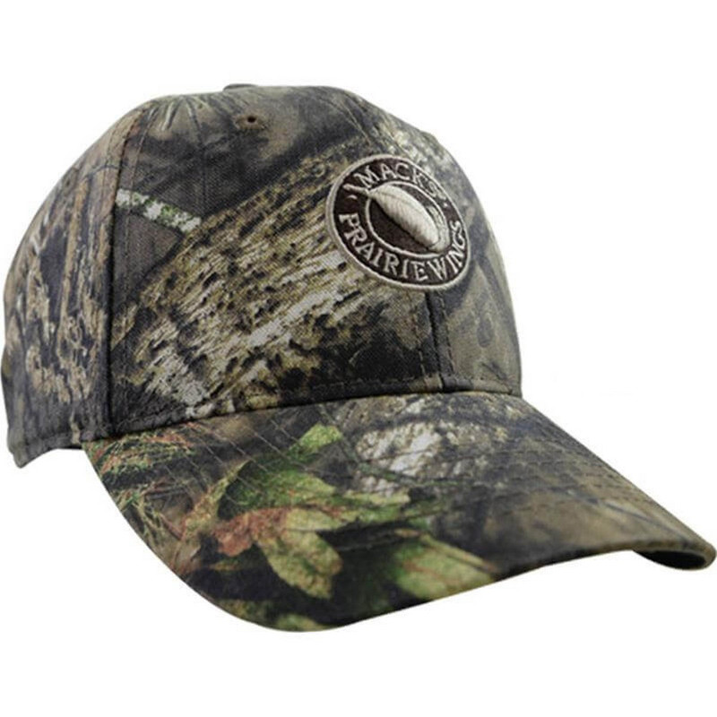 Mack's Youth Logo Camo Cap in Mossy Oak Country Color