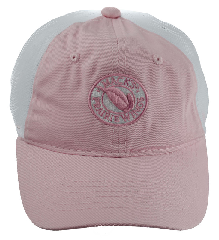 MPW Youth Logo Mesh Cap in Pink Color