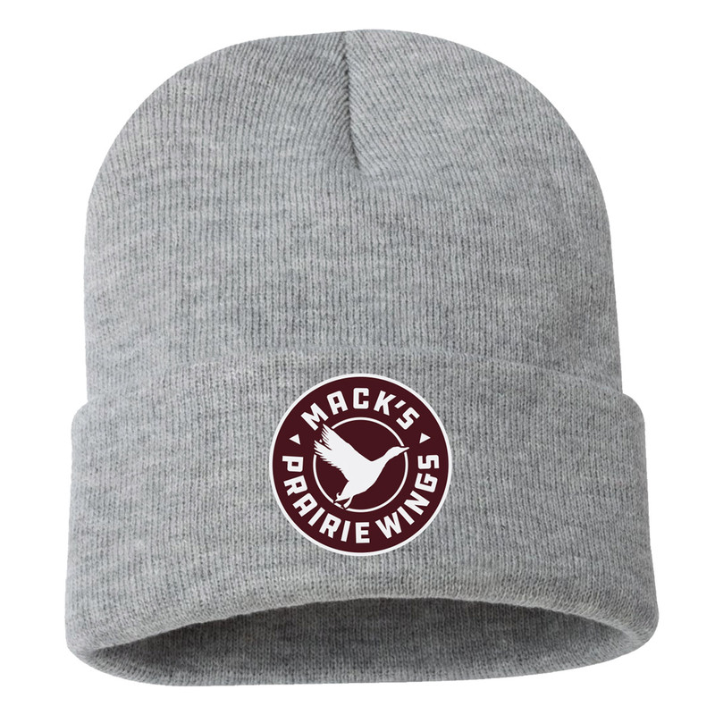 MPW Favorite Beanie in Heather Grey Color
