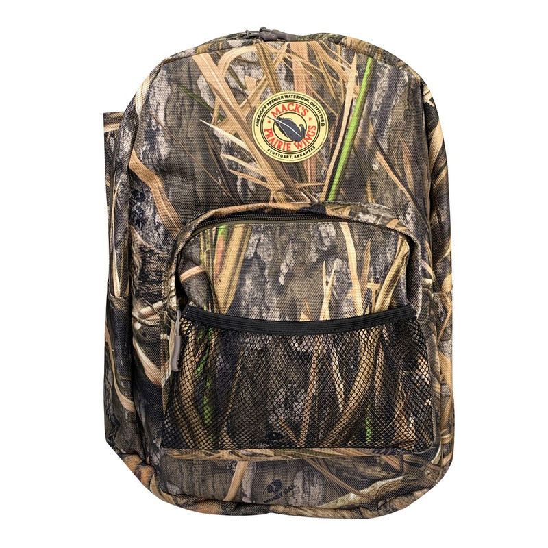 MPW The Grand Prairie Camouflage Backpack in Mossy Oak Blades Habitat Color