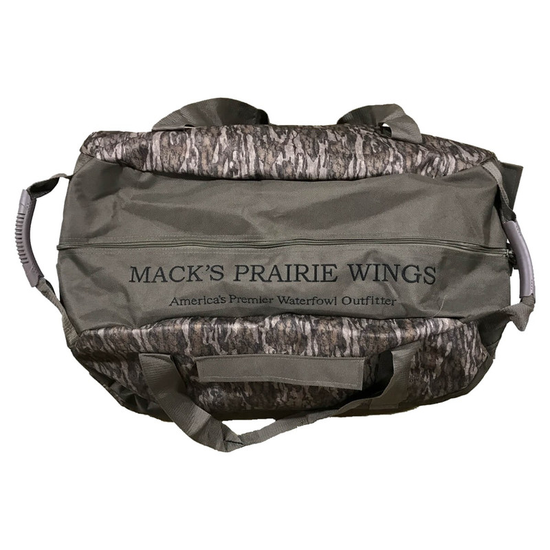 MPW Big Ditch Camouflage Gear Bag in Mossy Oak Bottomland Color