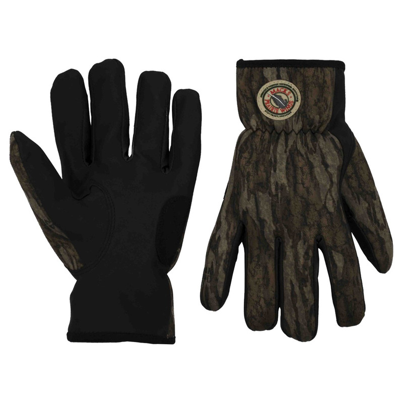 MPW Vallier Shooting Gloves in Mossy Oak Bottomland Color