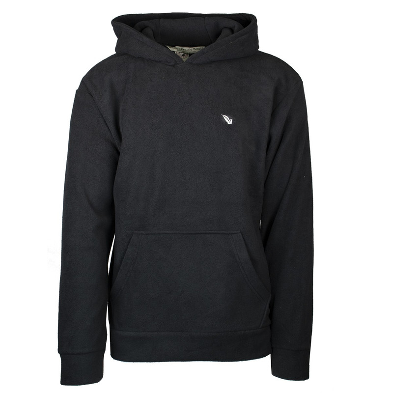 MPW Early Bird Fleece Hoodie in Black Color