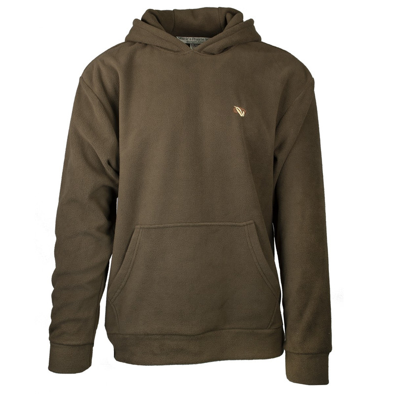MPW Early Bird Fleece Hoodie in Brown Color